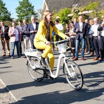 Eerste Gobike op Bedrijventerrein De Wetering-Haarrijn