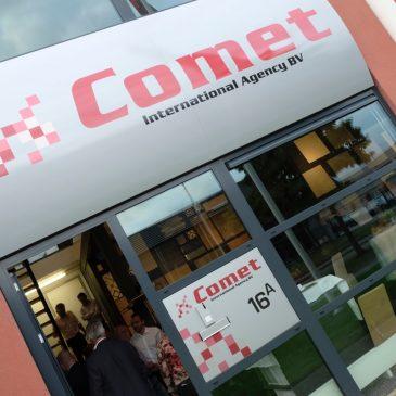Tegeltastisch bedrijfsbezoek bij Comet