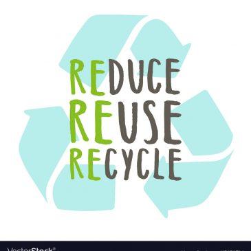 Re-use, Reduce & Recycle: Makkelijker dan je vaak denkt!