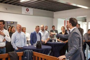 """De Veensche Businessclub had bijzonder """"Speeddate ontbijt"""" bij Daily Workwear en Invictus Online Marketing!"""
